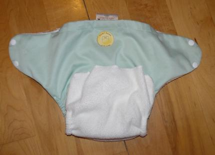 Failed elastic - pocket change diaper